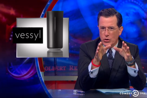 Colbert on Vessyl