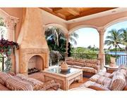 Patio area at 1450 Paslay in Manalapan