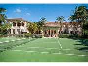Tennis court at 1450 Paslay in Manalapan