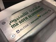 Also on display was metal from the first hot metal of Alcoa's joint venture in Saudi Arabia. Chairman and CEO Klaus Kleinfeld told shareholders this new plant will help to significantly bring the company's primary metal business down the cost curve and will be more competitive.