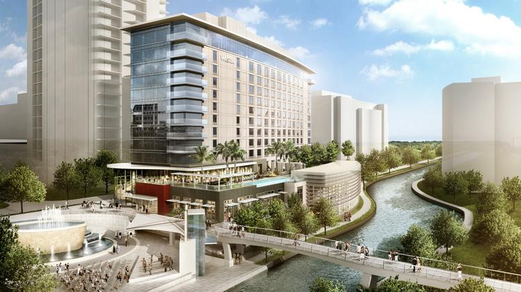 The Westin The Woodlands will include 302 rooms and 15,000 square feet of meeting space.