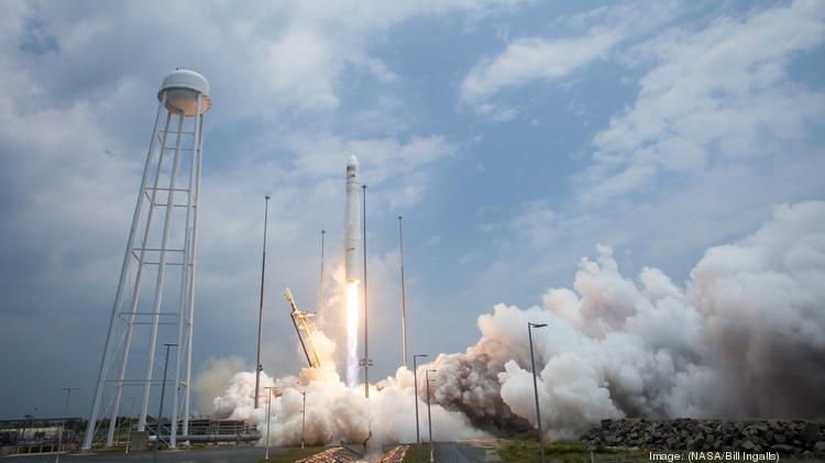 The Orbital Sciences Corp. Antares rocket launched July 13 from NASA's Wallops Flight Facility in Virginia. It carried 28 satellites for Spaceflight Services as a secondary cargo.