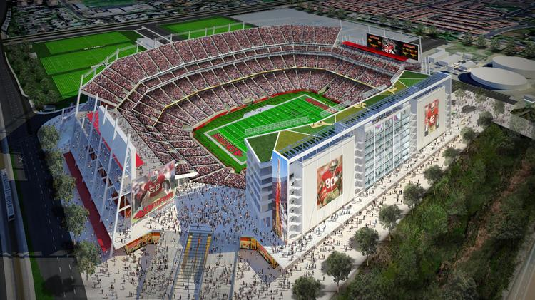 Levi's Stadium, which opens officially on July 17, will be the greenest stadium in the National Football League. Kansas City based HNTB Corp. designed the 68,500-seat stadium.