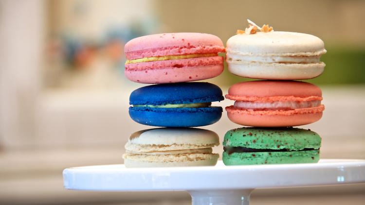 Macaron Bar will feature classic flavors like chocolate, pistachio and salted caramel as well as seasonal flavors like pumpkin and peppermint.