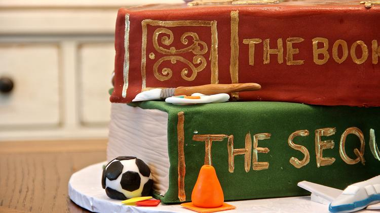 Book of Life birthday cake by pastry chef Tiffany MacIsaac, who's striking out on her own after working with D.C.'s Neighborhood Restaurant Group for several years.