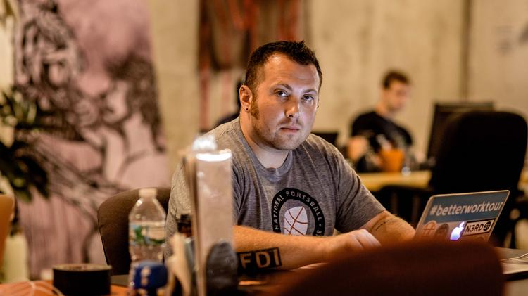 Alex Hillman founded Old City's Indy Hall co-working space in 2007.