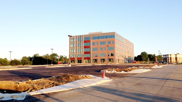 EQT Corp. will be moving into this building at the Zenith Ridge office complex.