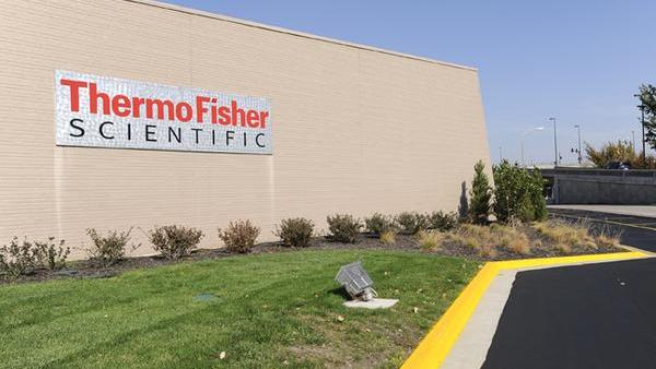 Thermo Fisher's Waltham headquarters