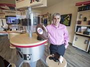 Craig Karmazin in one of his Verizon Wireless stores