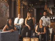 """Jason Wilson (far right) stars in a new Lifetime docu-series, """"BAPs"""" (Black American Princesses [and Princes]), which premieres July 23."""