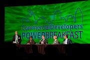 The panel talked about demand for redevelopment and reuse in the urban core.