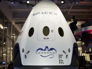 SpaceX's Dragon V2, one of the contenders in efforts to transport people to the International Space Station.