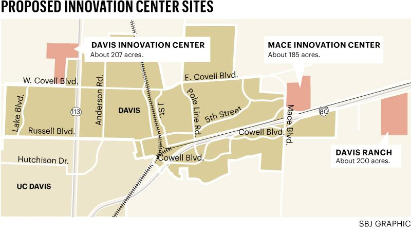 Davis innovation parks map