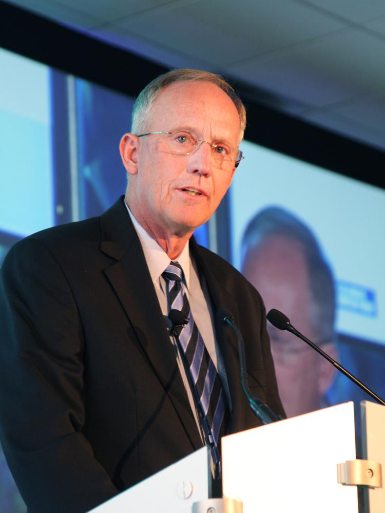OhioHealth Corp. CEO Dave Blom delivered the keynote Thursday at Columbus Business First's Health Care Heroes Awards.