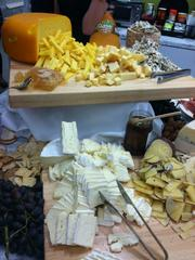 At the Ziegler Cooper open house event May 2, the cheese overfloweth.