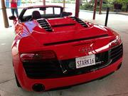 The 2014 Audi R8 Spyder, which is driven by Tony Stark in the latest movie, will be on display outside Planet Hollywood this weekend.