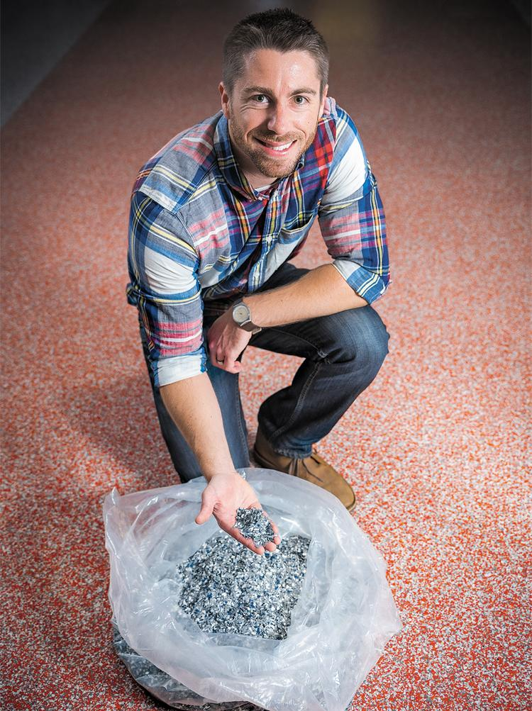 Will Buchanan, a partner at Treadwell LLC, has found a niche installing seamless resinous flooring. Buchanan was undeterred starting Treadwell during a down cycle, finding fewer competitors and more opportunities.