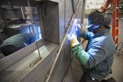 Compo Steel Products is a metal fabricator on Milwaukee's northeast side.Click here for story.