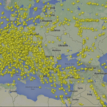 Airlines avoid Ukrainian air space in wake of 777 crash