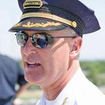 Former Baltimore police commissioner Fred <strong>Bealefeld</strong> braces for counterfeiters at Under Armour