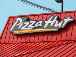 Pizza Hut has start selling pizza by the slice at two U.S. locations today before expanding it to other markets.