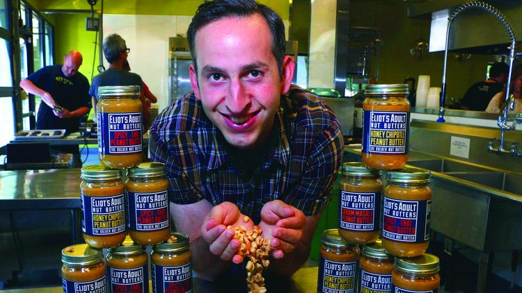 Michael Kanter came up with the idea for Eliot's Adult Nut Butters in July 2013. A year later, the product is in 10 New Seasons and three Whole Foods markets.