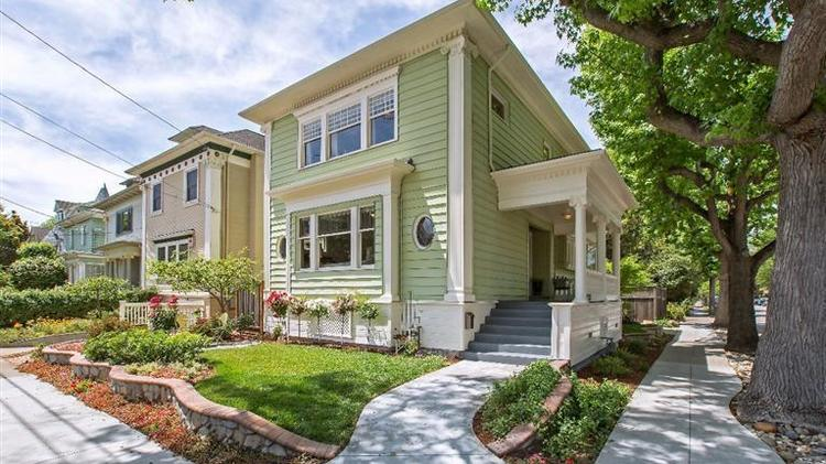 10. This five-bedroom at 1738 Alameda Ave. in Alameda is on the market for $1.2 million. Alameda's school score is 7.4 and the median price per square foot is $365.
