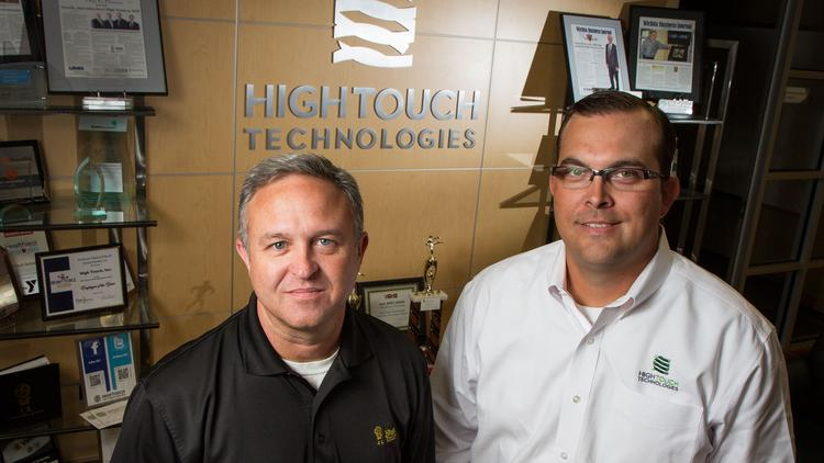 Tech experts like High Touch's Kevin Colborn and Jason Mock say businesses have growing interest in the cloud.