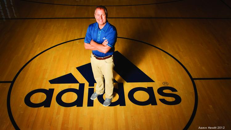 New Adidas Group North America President Mark King is charged with chasing down rival Nike. His success at TaylorMade suggests he's game for the challenge.
