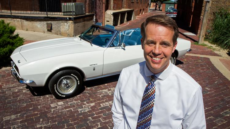 Wichita is a good home for Jeff Fluhr's first car, a 1967 Chevy Camaro.
