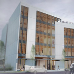 A speculative office building set to land in North Portland this winter