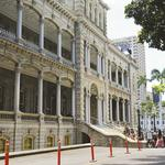 The Howard Hughes Corp. paid to replace Iolani Palace's broken door