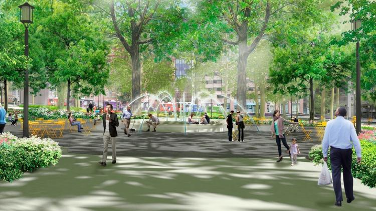 Franklin Park, perhaps, after an overhaul, as rendering by The Olin Studio and ZGF Architects.