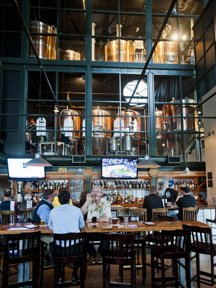 The owners of Against the Grain, which is located at Louisville Slugger Field, have bought property in Portland.