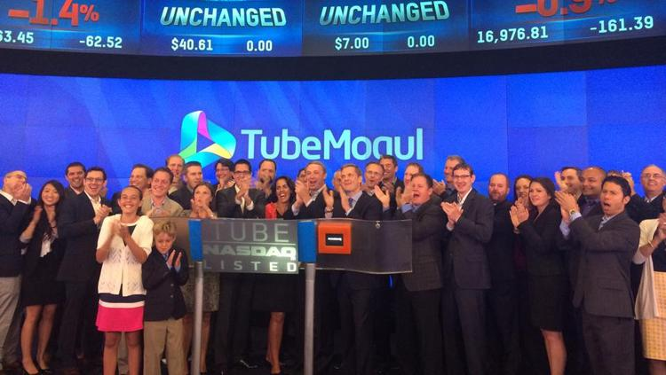 Emeryville-based TubeMogul's stock soared by more than 40 percent on Friday after its IPO priced low on Thursday.