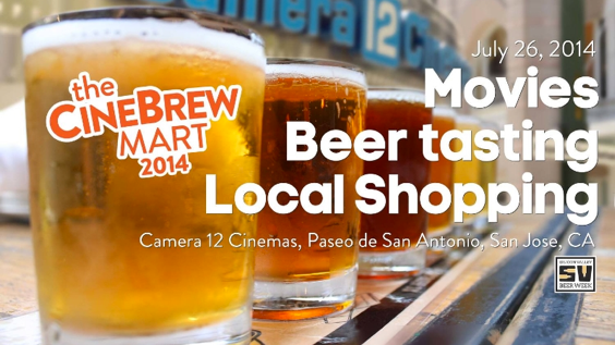 A recipe to inject some liveliness into downtown San Jose? Local brewers and pop-up retailers are coming together as part of Silicon Valley Beer Week for a quirky spin on a movie festival.