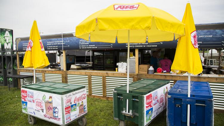 Ale-8-One officials will hand out swag this weekend at Forecastle.