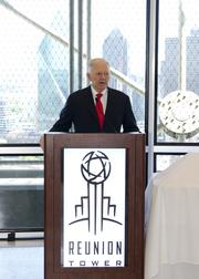Ray Hunt talks about his plans for Reunion Tower