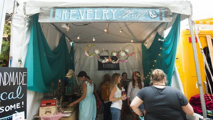 Revelry Boutique Gallery is making its first appearance at the Forecastle Festival this year. The NuLu business is owned by Mo McKnight Howe, who is festival founder JK McKnight's sister.