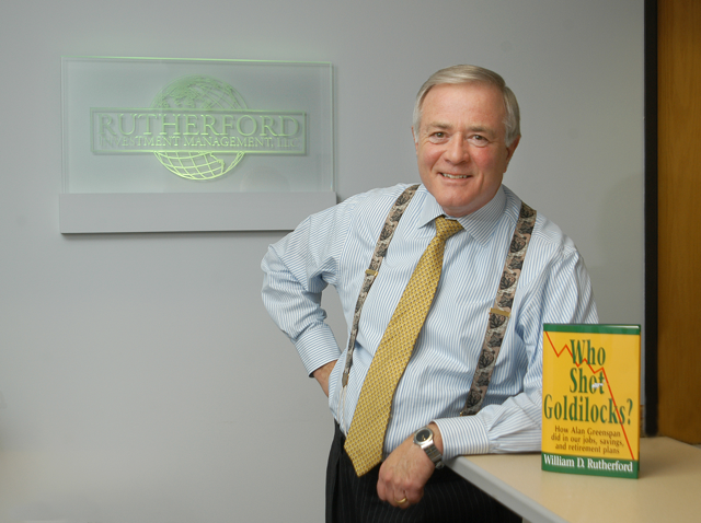 Bill Rutherford purchased back the financial services firm he sold two years ago.