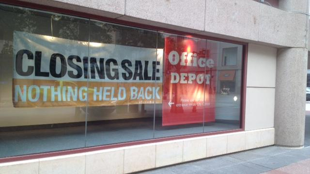 Office Depot Closing Downtown Minneapolis Store In City Center