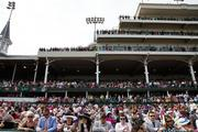 Churchill Downs was filled to the rafters on Oaks day.