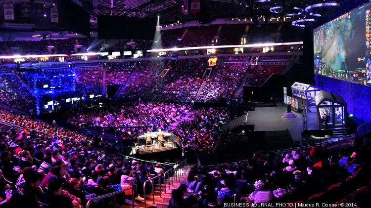 Thousands of fans filled Key Arena on Monday for the Grand Finals of Valve's The International Dota 2 Championships.  Newbee and Vici Gaming were the final two teams playing for the championship.  The winning team takes home a prize of $5 million and the second place team a prize of $1.4 million.