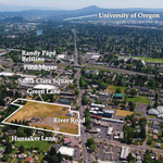 How much will this 8.24-acre site in Eugene fetch at auction?