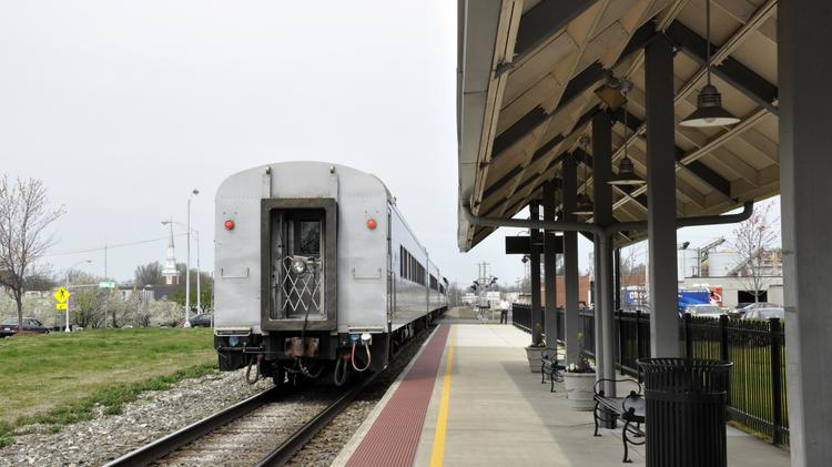 Pictured is the Burlington station, which has been upgraded with security systems and a platform extension. Construction is underway on a project to provide a second track in three areas along the 93-mile section of the railway that runs between Greensboro and Charlotte that is operated by Norfolk Southern as its main line between Washington and Atlanta.