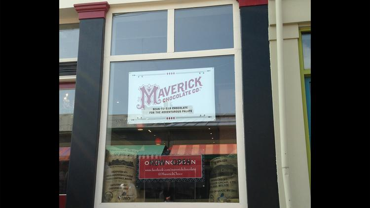 Maverick Chocolate Co. is part of Findlay Market, located at 129 W. Elder St.