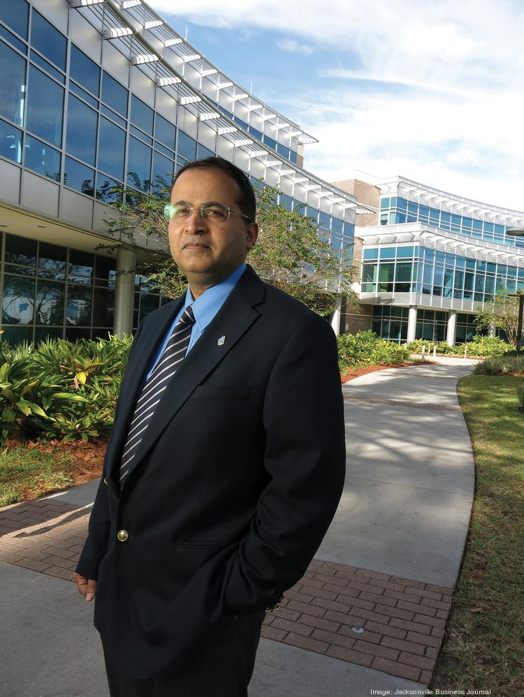 UNF College of Business Dean Dr. Ajay Samant.