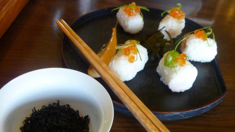 Verdant Tea is adding salmon rice balls and other food to their menu to compliment its imported teas.