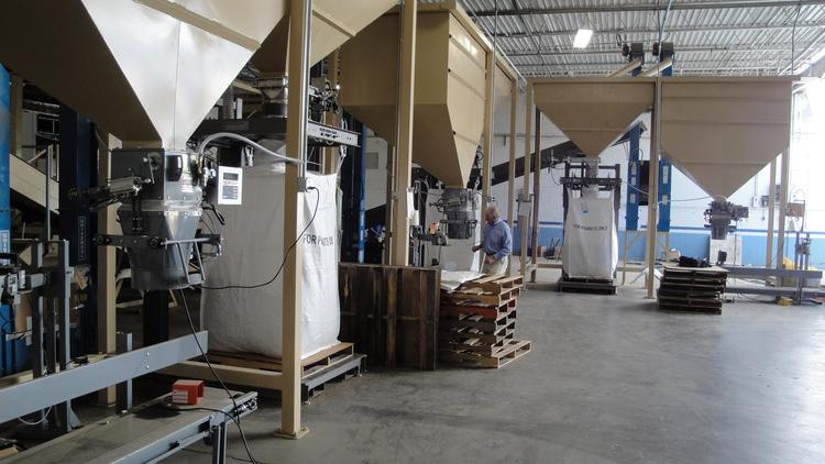 Spiroflow's customers include companies such as Golden Grove Candy Co. of Warsaw, N.C., which recently bought a bulk bag-filling system from the Monroe company.