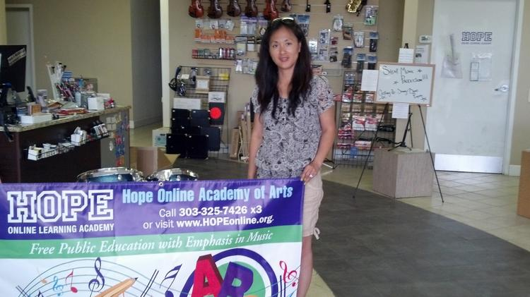 Yumi Ha, owner of My Music Skool, will open Hope Online Academy of Arts learning center this fall.